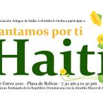 Concierto por Haití