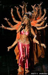 Shakira en Bollywood.