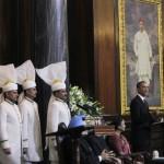 Discurso del presidente Obama ante el parlamento Indio