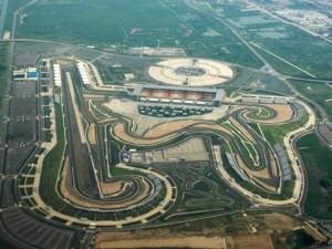 "Vista aérea del ""Buddh International Circuit"""