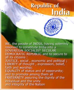 Preámbulo de la Constitución de la India