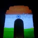 Espectacular Animación 3D sobre la Puerta de India (India Gate)