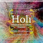 Celebración del Holi, Festival de los Colores en Bogotá
