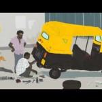 Un viaje en rickshaw