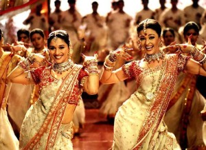 Madhuri Dixit y Aishwarya Rai en 'Devdas' (2002)