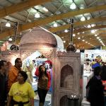 La guía de India en la Feria del Hogar