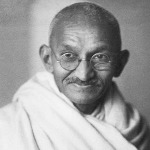 Gandhi habla de la Navidad