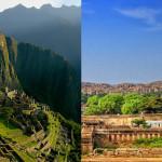 Hampi y Machu Pichu podrían ser gemelas